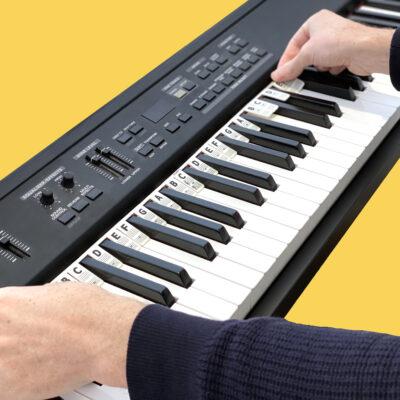 Installing Piano Rake